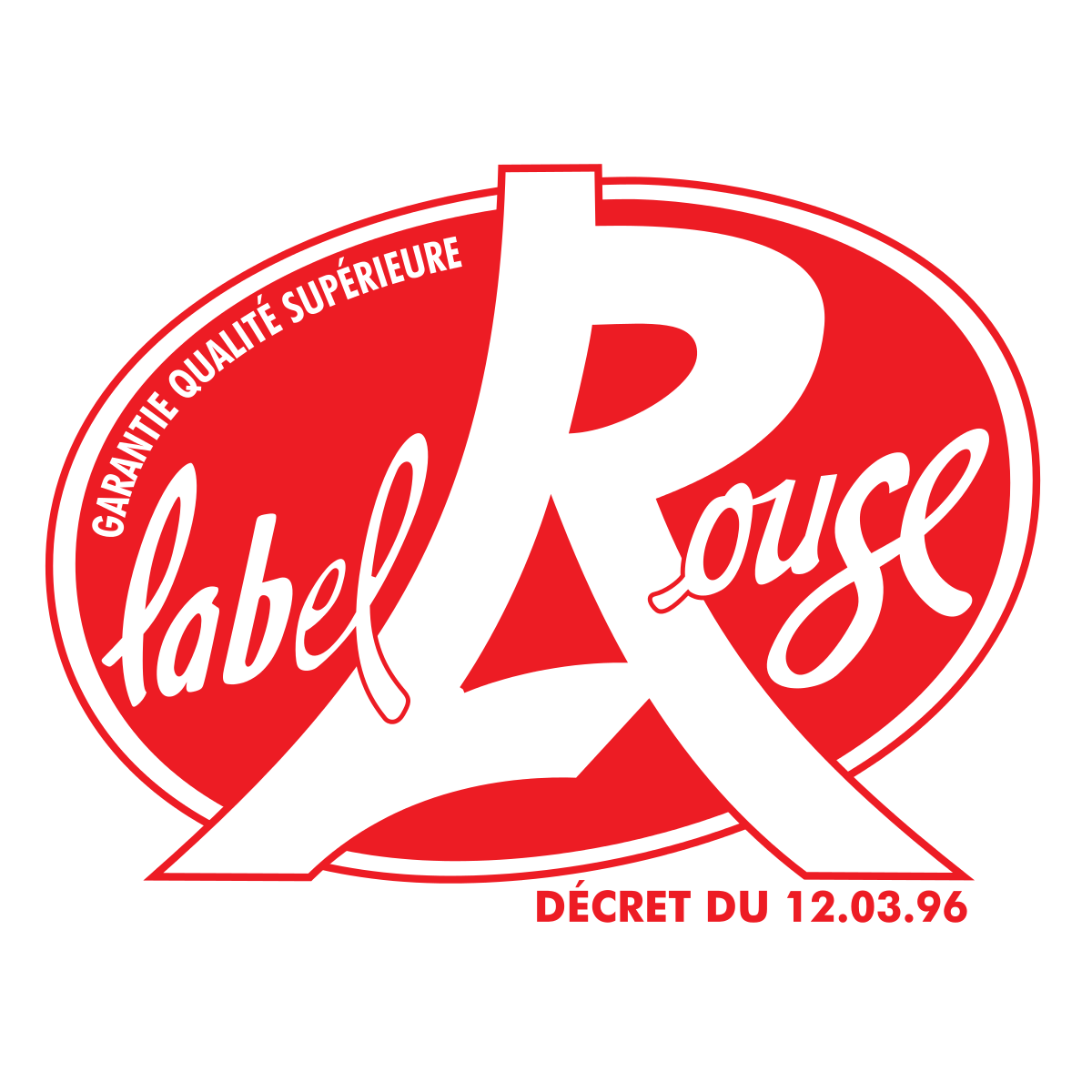 Brand label rouge