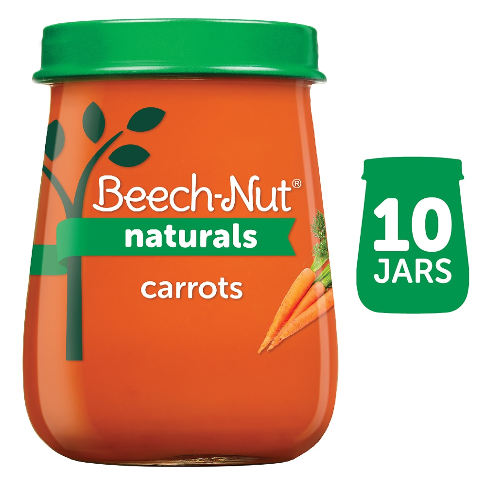 1005220017103 - BEECH-NUT NATURALS JUST CARROTS STAGE 1 BABY FOOD