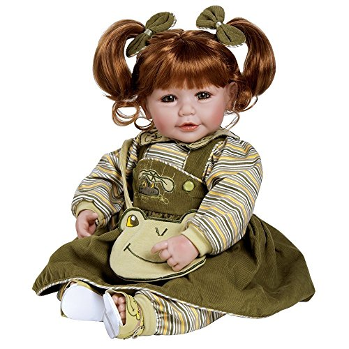 0010475222944 - ADORA 20 INCHES BABY DOLL FROGGY FUN RED HAIR/GREEN EYES