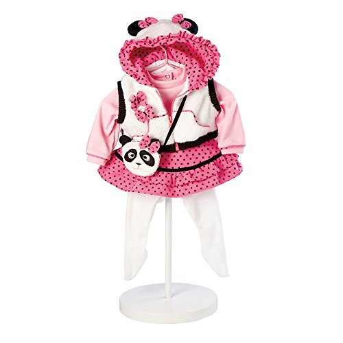 0010475928419 - ADORA BABY DOLL PANDA FUN 20 IN. DOLL OUTFIT
