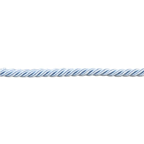 0010900000239 - CORD POLYESTER CORD WITHOUT LIP FOR HOME DECOR, 3/8-INCH, LIGHT BLUE