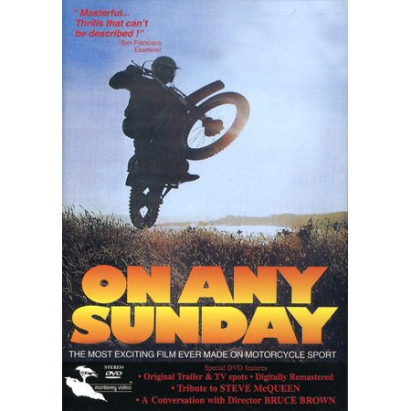 0012233331127 - ON ANY SUNDAY (DVD)
