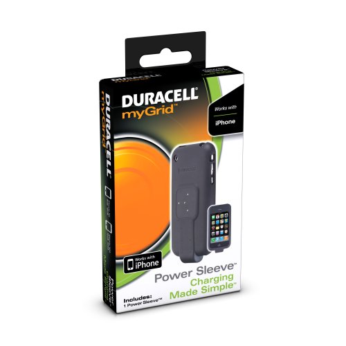 0012300470049 - DURACELL MYGRID POWER SLEEVE FOR APPLE IPHONE 1-COUNT
