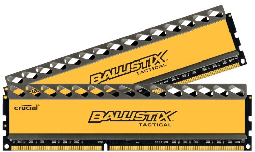 0012303912317 - CRUCIAL BALLISTIX TACTICAL 8GB KIT (4GBX2) DDR3 1600, PC3-12800 PERFORMANCE MEMORY BLT2KIT4G3D1608DT1TX0/BLT2CP4G3D1608DT1TX0