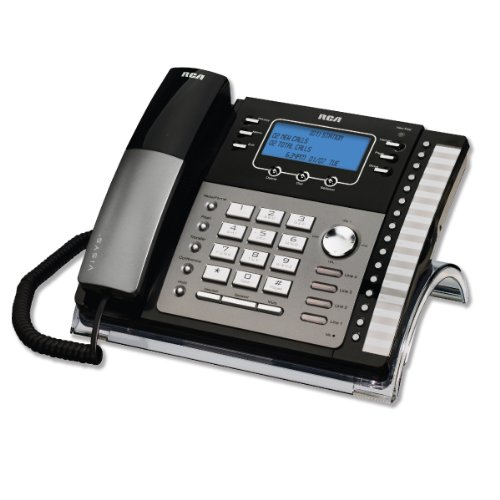 0012304038665 - 4-LINE EXPANDABLE CORDED PHONE-BY RCA