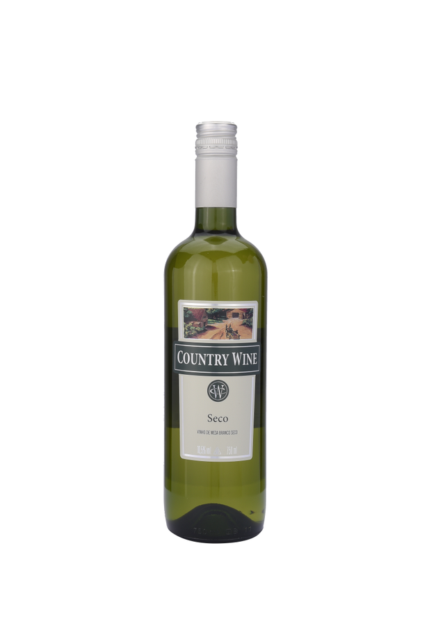 0001245789521 - VINHO BRANCO COUNTRY WINE BRANCO MEIO SECO 750ML