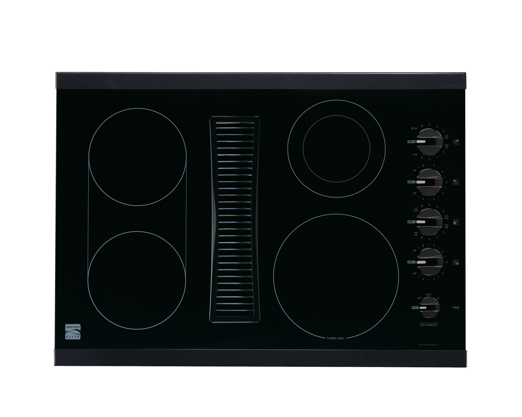 0012505562204 - 44119 30 DOWNDRAFT ELECTRIC COOKTOP