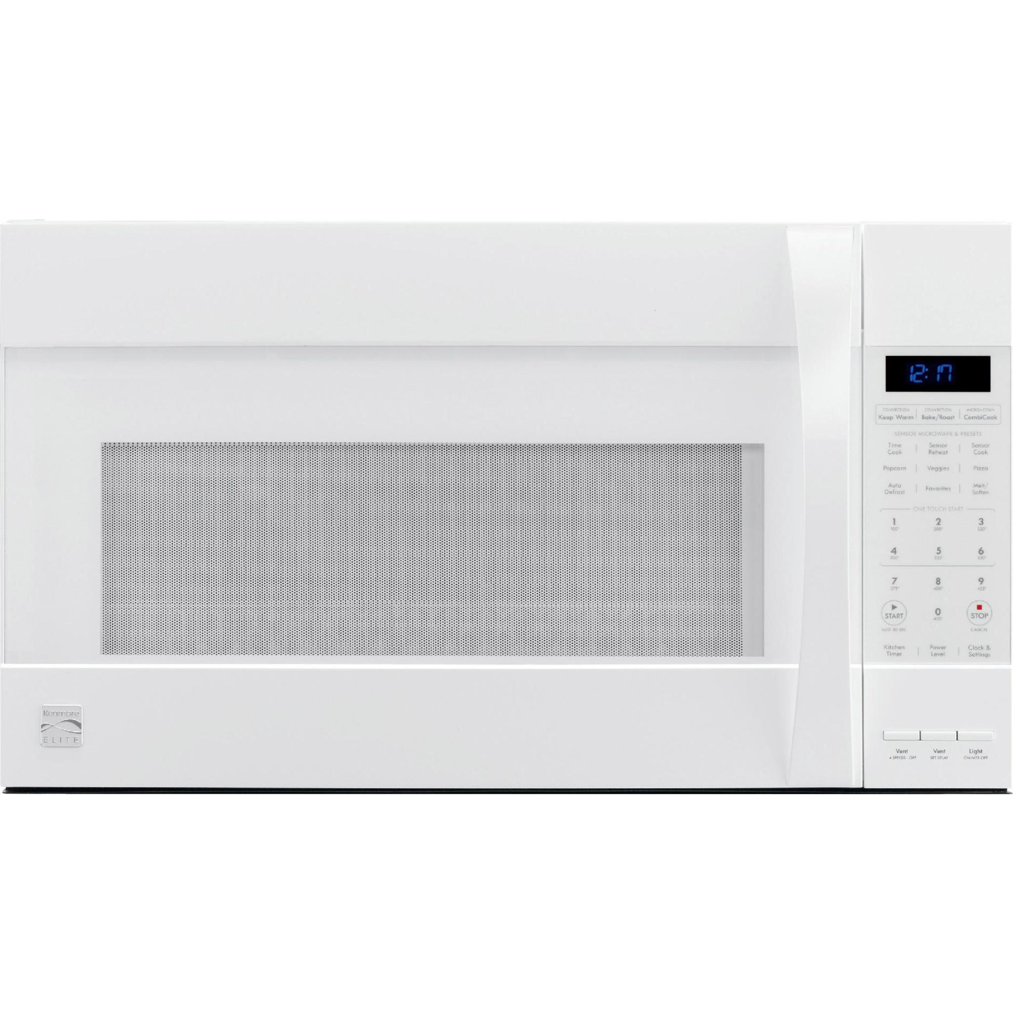 0012505563102 - 80372 1.8 CU. FT. OVER-THE-RANGE CONVECTION MICROWAVE - WHITE