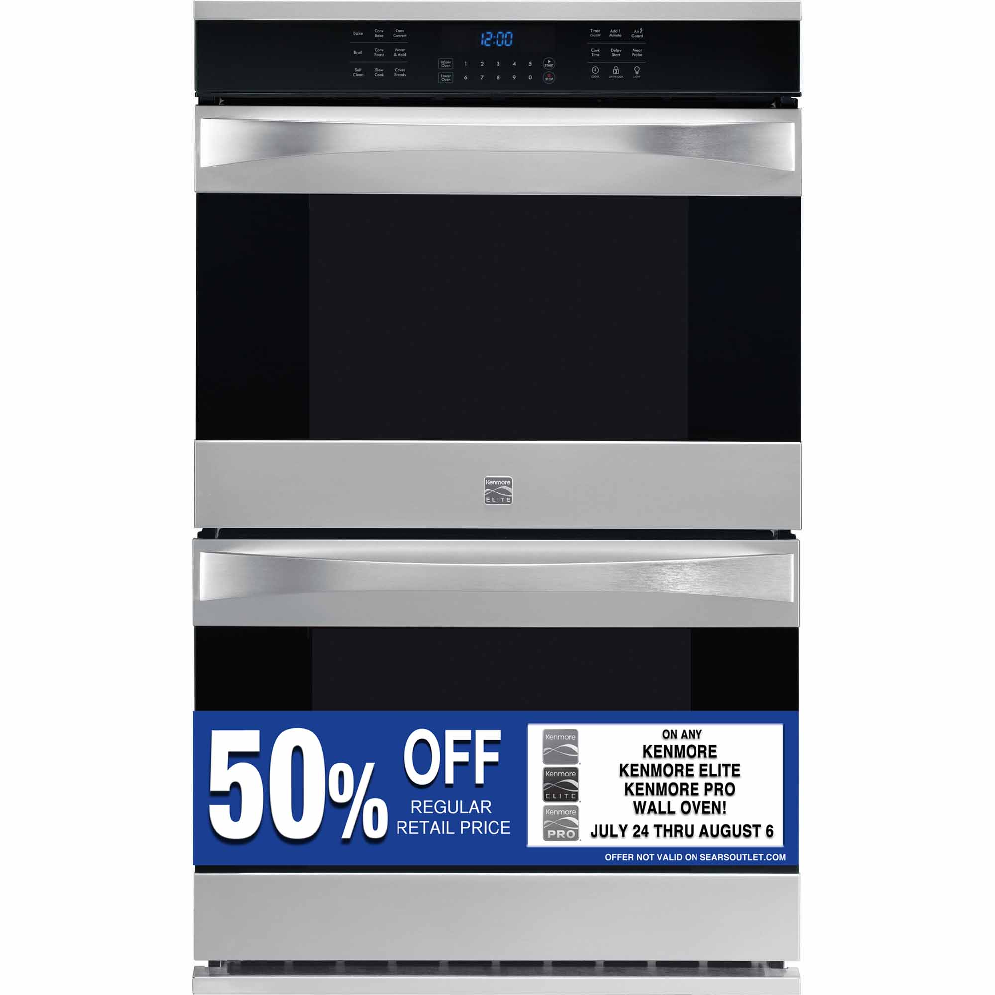 0012505803048 - 48473 30 ELECTRIC DOUBLE WALL OVEN W/ TRUE CONVECTION™ - STAINLESS STEEL