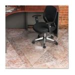 0012544313027 - ECOKLEER CHAIRMAT 46 X 60 NO LIP CLEAR