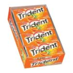 0012546075671 - TRIDENT SYSTEMS TROPICAL TWIST SUGARLESS GUM WITH XYLITOL 18-PIECE PACKAGES 216 STICKS