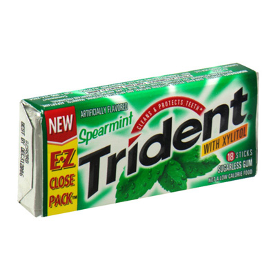0012546615310 - CHICLE TRIDENT 30G TWIST SPEARMINT