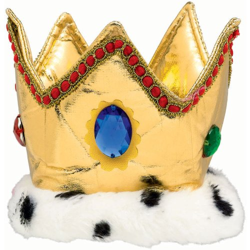 0013051292492 - AMSCAN MAJESTIC PARTY KING CROWN, 6, GOLD