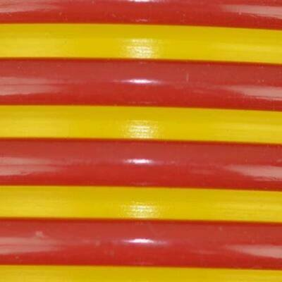 0013161673990 - SMOOTH-BOR RED AND BRIGHT YELLOW VACUUM HOSE - 2 INCH X 15 FEET