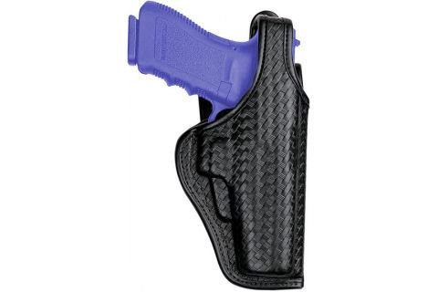 0013527220288 - BIANCHI ACCUMOLD ELITE 7920 DEFENDER II DUTY HOLSTER -SIZE13B GLOCK (PLAIN BLACK, RIGHT HAND)
