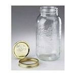 0014400681004 - BALL 68100 HALF GALLON WIDE MOUTH CANNING JARS