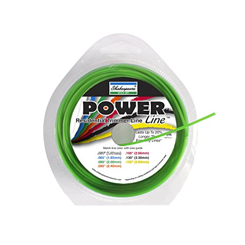 0015221010035 - SHAKESPEARE POWER LINE .080 ROUND 50' LOOPS