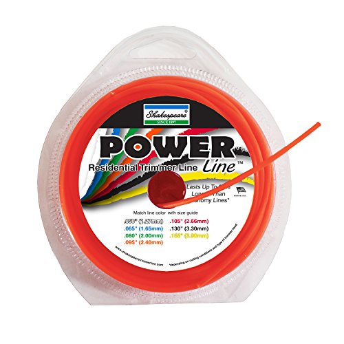 0015221010042 - SHAKESPEARE POWER LINE .095 ROUND 40' LOOPS