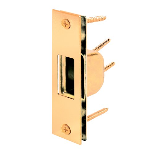 0015231074737 - PRIME-LINE PRODUCTS U 9539 BOX STRIKE PLATE, BRASS PLATED