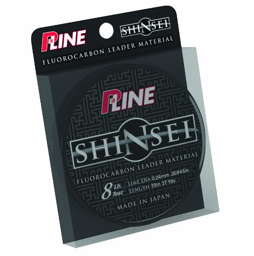 0015789024994 - P-LINE SHINSEI 100-PERCENT PURE FLUOROCARBON LEADER MATERIAL (25 METER, 25-POUND)