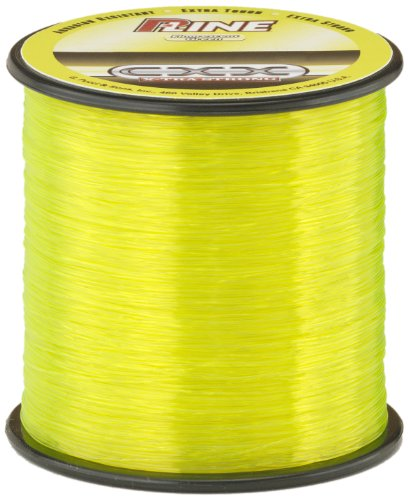 0015789301194 - P-LINE CXX-XTRA STRONG 1/4 SIZE FISHING SPOOL (400-YARD, 30-POUND, FLUORESCENT GREEN)