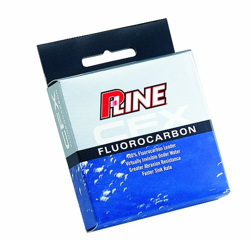 0015789332051 - P-LINE CFX FLUOROCARBON LEADER MATERIAL FISHING SPOOL (27-YARD, 8-POUND)