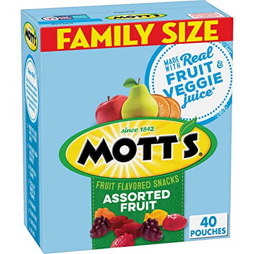 0016000487642 - MOTT'S MEDLEYS ASSORTED FRUIT FLAVORED SNACKS, 32 OUNCE
