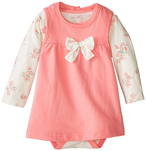 0017036954832 - RENE ROFE BABY BABY-GIRLS INFANT FLORAL BODYSUIT WITH JUMPER SET, MULTI, 12 MONTHS
