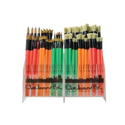 0018376353453 - DYNASTY FM35345D SYNTHETIC AND BRISTLE URBAN ART BRUSH DISPLAY ASSORTMENT
