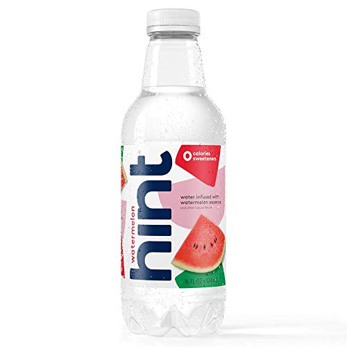 0184739000354 - HINT PREMIUM WATERMELON ESSENCE WATER, 16 OUNCE BOTTLES (PACK OF 12)