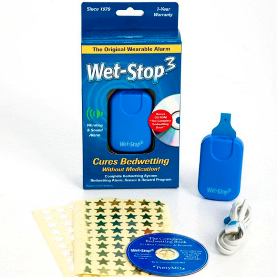 0188813000247 - WET-STOP 3 BEDWETTING ALARMKIT 1X1 MFG. POTTYMEDIUM