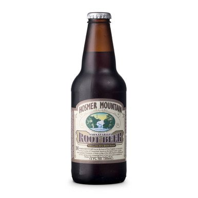 0019204122005 - HOSMER MOUNTAIN ROOT BEER - 12 OZ BOTTLE SODA SOFT DRINKS
