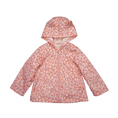 0193371731953 - CARTERS BABY GIRLS MIDWEIGHT FLEECE-LINED JACKET, LEOPARD PINK, 12MO