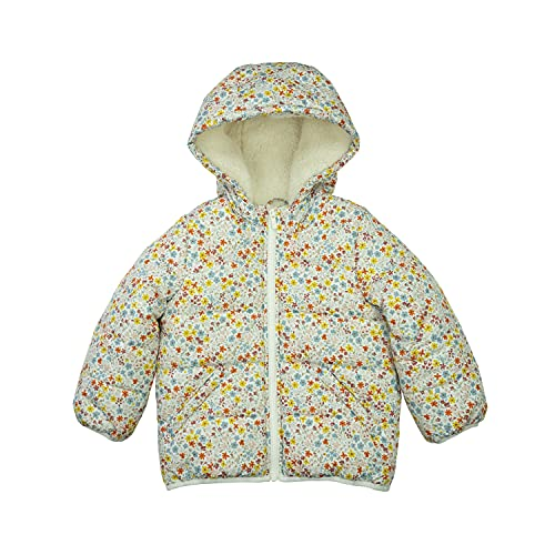 0193371889692 - CARTERS BABY GIRLS FLEECE LINED PUFFER JACKET COAT, DITSY FLORAL, 18MO