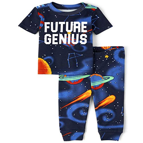 0193511969024 - THE CHILDREN'S PLACE BABY BOYS' SHORT SLEEVE PAJAMA SET, TIDAL, 18-24MONTH