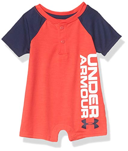 0193579764357 - UNDER ARMOUR BABY BOYS' UA CHAMP SHORTALL, VERSA RED, 3/6M