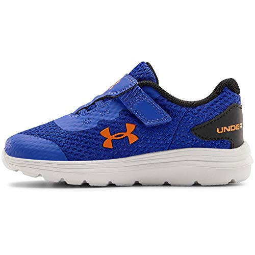 0194512681083 - UNDER ARMOUR BABY INF SURGE 2 ALTERNATIVE CLOSURE SNEAKER, EMOTION BLUE /WHITE, 9K