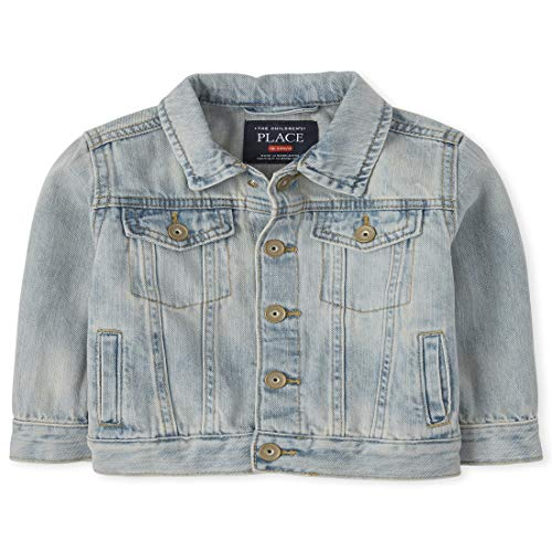0194936311726 - THE CHILDRENS PLACE BABY BOYS DENIM JACKET, QUINN WASH, 6-9MONTHS