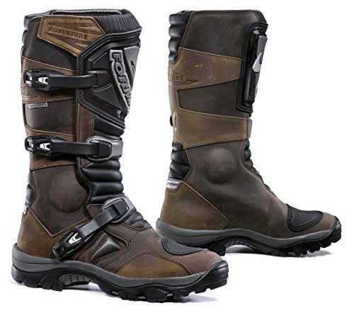 2000000002514 - FORMA ADVENTURE OFF-ROAD MOTORCYCLE BOOTS (BROWN, SIZE 10 US/SIZE 44 EURO)