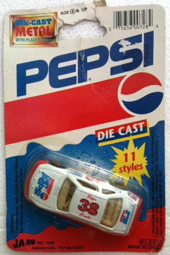 0002061291328 - DIET PEPSI DIECAST NASCAR #38 RACING PETER COMBA RACE CAR