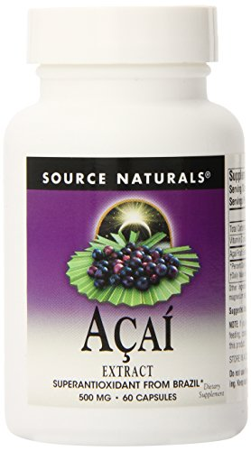 0021078020257 - ACAI EXTRACT, 60 CAPS (PACK OF 4)