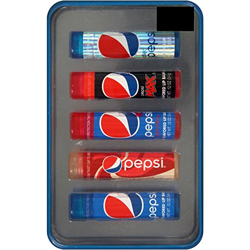 0021331262967 - PEPSI 5 FLAVORED LIP BALM SET