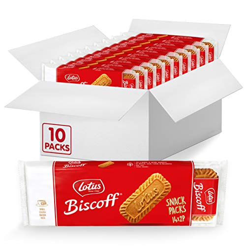 0021788506249 - LOTUS BISCOFF - EUROPEAN BISCUIT COOKIES - 7.65 OUNCE X 10 RETAIL PACKS - 14 TWO-PACKS PER RETAIL PACK - NON GMO PROJECT VERIFIED + VEGAN