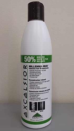 0021959273703 - EXCELSIOR MILLENNIA MUD INTENSIVE HAIR RECONSTRUCTOR - NEW BONUS SIZE BOTTLE 10 OZ.