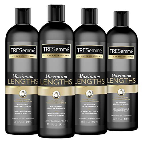 0022400008646 - TRESEMMÉ SHAMPOO BIOTIN FOR DRY HAIR AND SPLIT ENDS MAX LENGTHS SEALING SPLIT ENDS 20 OZ 4 COUNT