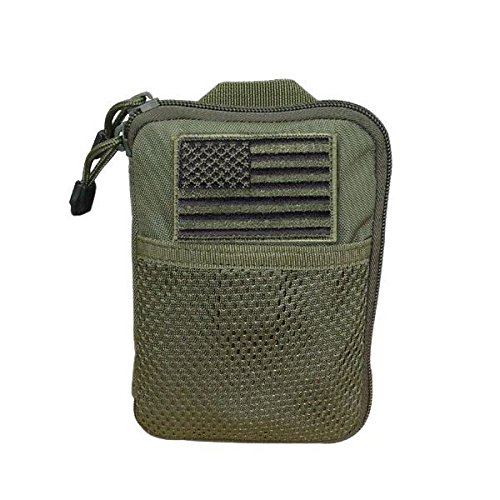 0022886016012 - CONDOR POCKET POUCH/US PATCH (OLIVE DRAB, 7.25 X 5-INCH)