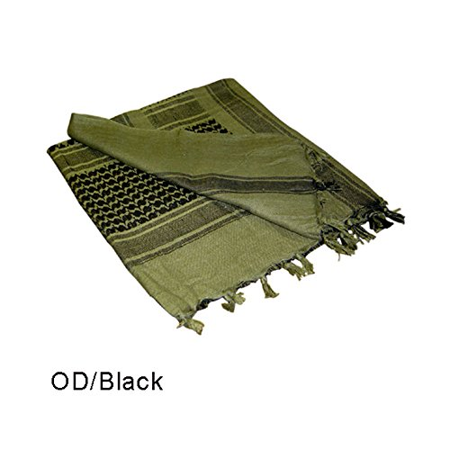 0022886201012 - OD GREEN AND BLACK SHEMAGH