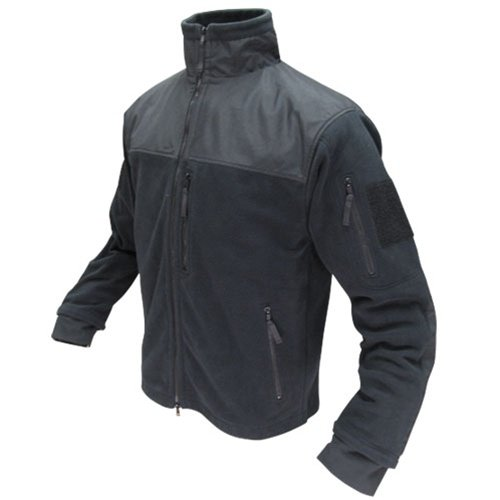 0022886601058 - CONDOR MICRO FLEECE JACKET (BLACK, MEDIUM)