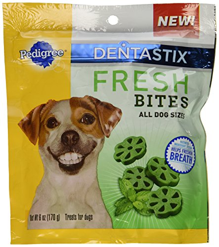 0023100110691 - PEDIGREE DENTASTIX FRESH BITES ALL SIZE DOGS (6 OZ)