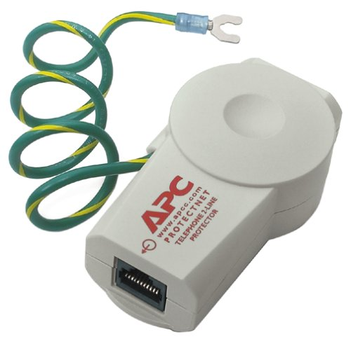 0023216685755 - APC PTEL2 PROTECTNET STANDALONE SURGE PROTECTOR FOR ANALOG/DSL PHONE LINES (2 LINES, 4 WIRES)